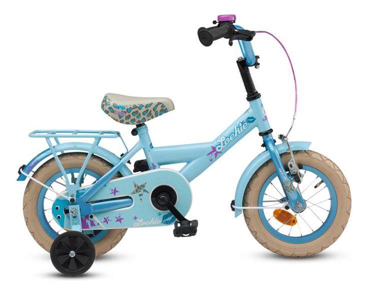 Loekie Superstar 12 inch 2017 Meisjes Iceblue-Aqua  Is jouw dochter een echte superster en geschikt voor de Loekie Superstar 12 inch? Geen roze en tierelantijntje voor haar maar een stoere blauwe fiets? Zet haar in de schijnwerpers en maak van jouw dochter een filmster! De blauwe 12 inch Superstar geschikt voor meisjes van 3 - 4 jaar heeft gave paarse accenten en is afgewerkt met een panter printje. Bij de fiets zitten standaard zijwieltjes die gemakkelijk te (de)monteren zijn.  EUR 119.00…