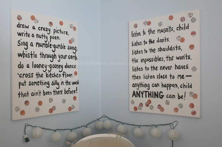 Shel Silverstein Wall Decal: 1000+ Images About Great Kids Quotes On Pinterest