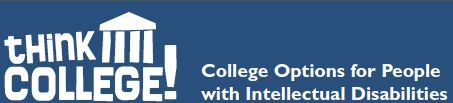 Here's a great resource for looking at college options for individuals with disabilities!