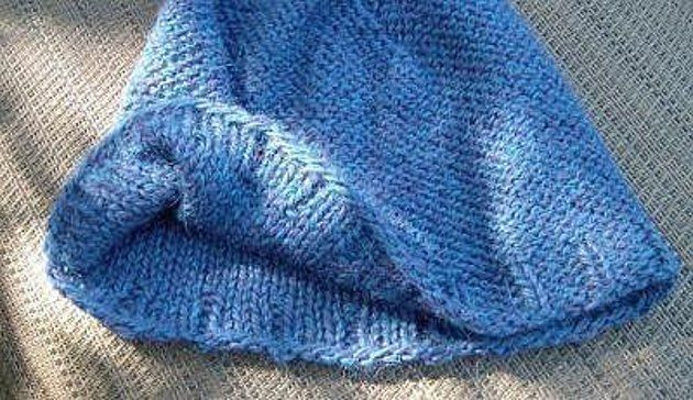 This creation is meant to be worn purl side out, for extra smoothness against the scalp.Since knitting is easier for most than purling, the hat is worked knit-side out, ends are woven in on the knit side, then it is flipped purl-side out for wearing.Version shown is sized large for a generous, gentle fit. -If you prefer to have a snug fit the hat COULD be worked on smaller needles, but I think a tighter stitch would detract from the soft feel of the fabric. -I think a better, much softer…