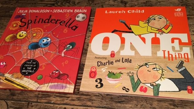 Picture books for practising numbers with young children
