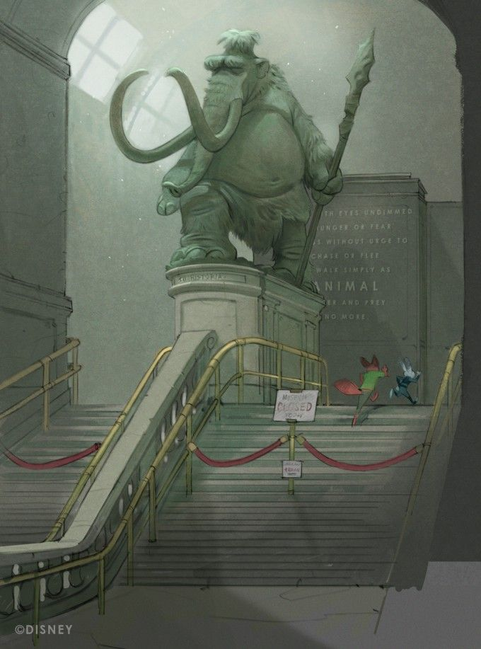 Concept artist and illustrator Cory Loftis Disney's Zootopia