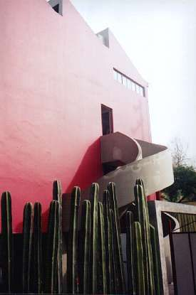 House and Studio of Diego Rivera and Frida Kahlo #fridakahlo
