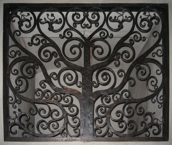 Wrought Iron Grate In Hovedbygningen At Campus Ntnu