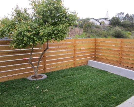 Horizontal Cedar Fence Design, Pictures, Remodel, Decor and Ideas
