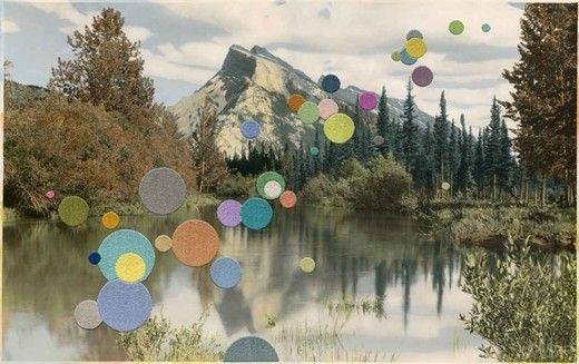 Landscape with Mountain, 2013 Julie Cockburn