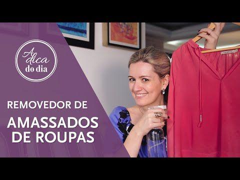 MISTURA PARA DESAMASSAR ROUPAS (DIY) | A DICA DO DIA COM FLÁVIA FERRARI - YouTube