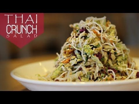 Recipes | CPK Thai Crunch Salad - easy with how-to video