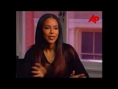 Aaliyah and Delroy Lindo talks on 'Romeo Must Die' *RARE* - YouTube
