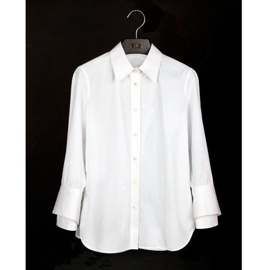 La camisa blanca de carolina herrera moda puntos de for How to whiten shirts