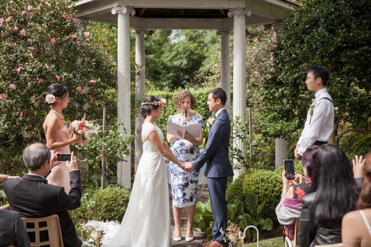 Gloria & Henry's Surprise Vows // Eryldene Historic House & Garden