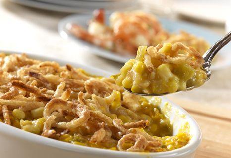 Campbell's Kitchen: Cheesy Chile Corn Casserole