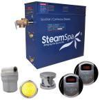 SteamSpa Royal 7.5kW Steam Bath Generator Package in Brushed Nickel