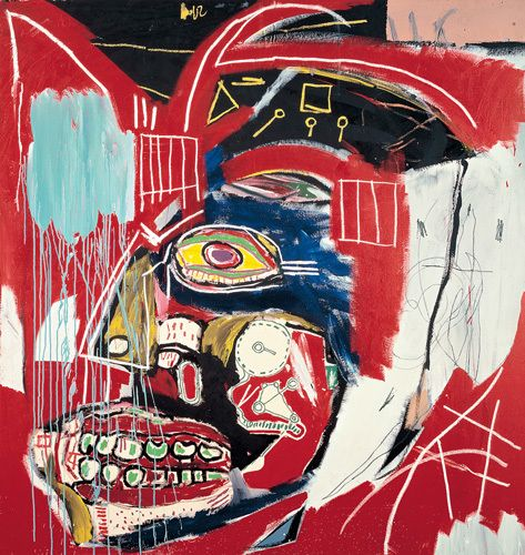 In This Case, 1983 Art Print by Jean-Michel Basquiat Easyart.com