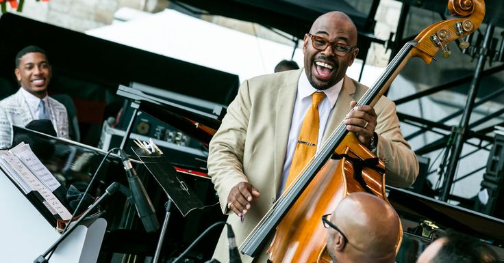 In his first year overseeing this event, the bassist Christian McBride brought in kindred sounds and a slightly younger crowd.