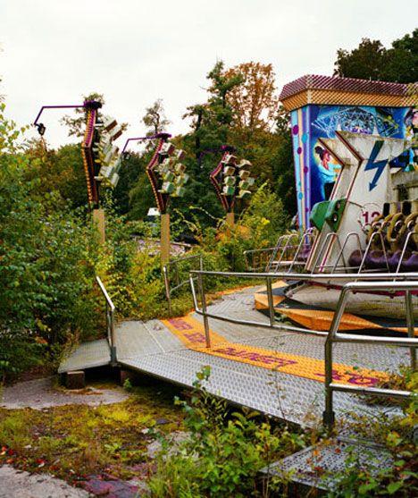 Abandoned Amusement Park Ride