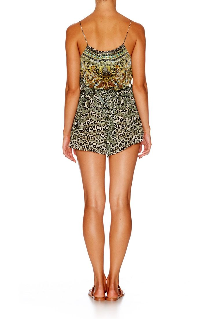 ARMADA SHOESTRING STRAP PLAYSUIT - Playsuits & Jumpsuits - Collection | CAMILLA