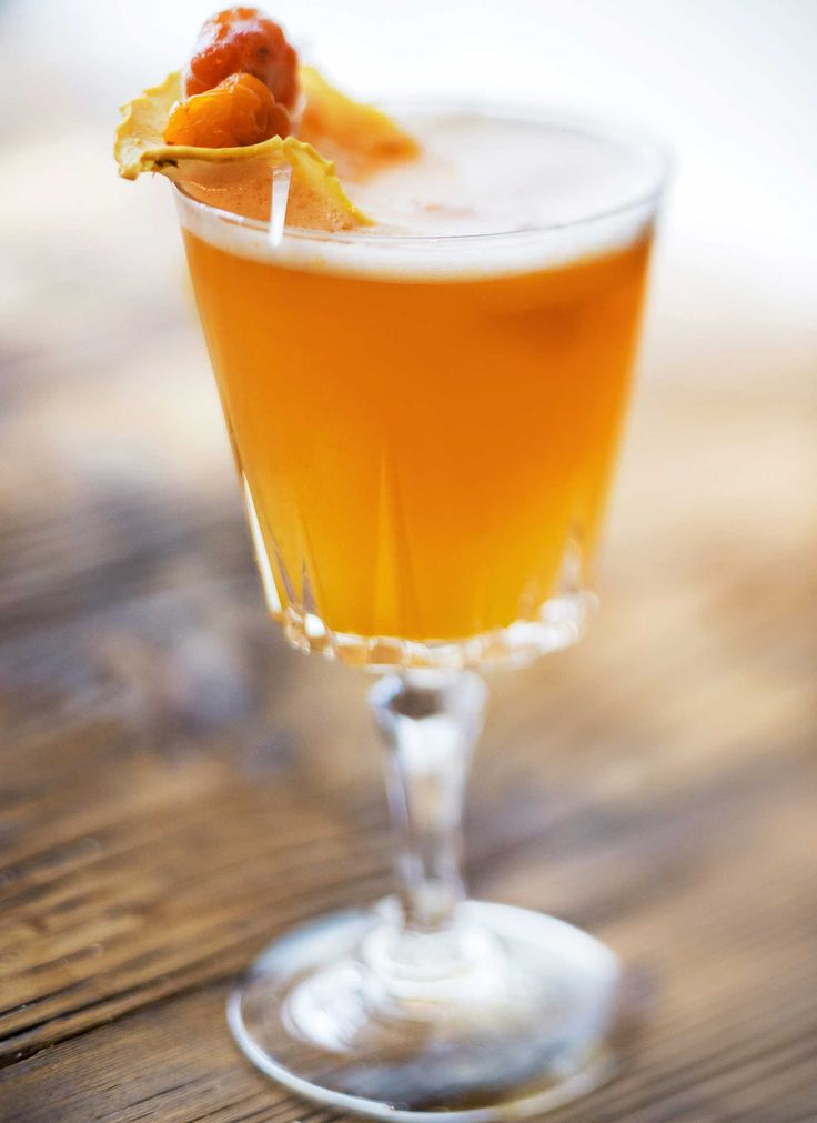 Cloudberry Drink Recipes