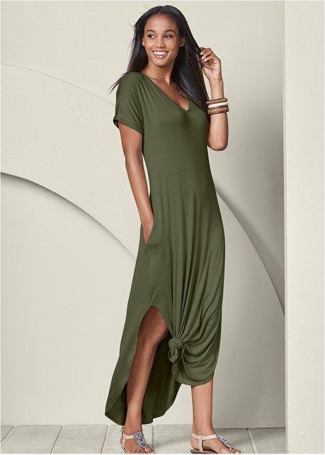 c16cc497c69b Casual maxi dress in 2019