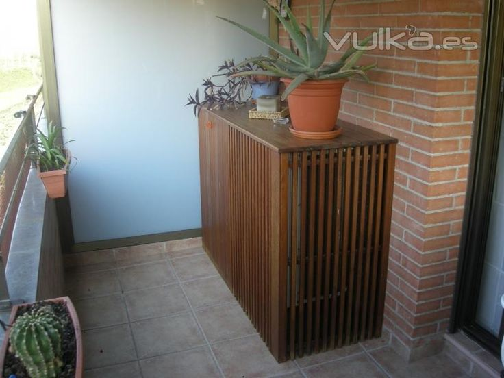 How to cover your air conditioner in your balcony