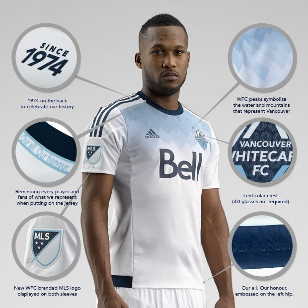 Whitecaps FC launch new primary kit | Vancouver Whitecaps FC