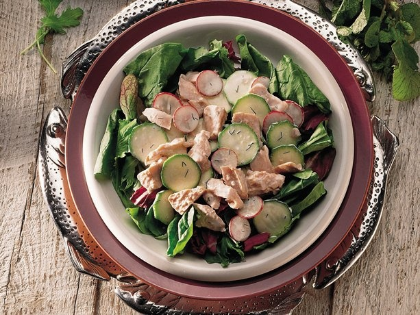 Dilled Salmon Salad (Cooking for 2) | My Favorite Recipes | Pinterest