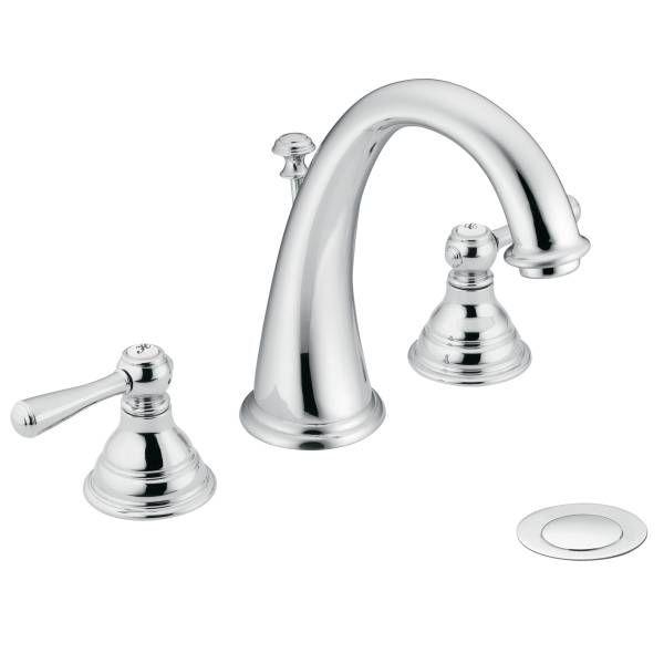 Ordinaire Visit The Home Depot To Buy MOEN Kingsley Widespread Lavatory Faucet Trim  Kit In Chrome