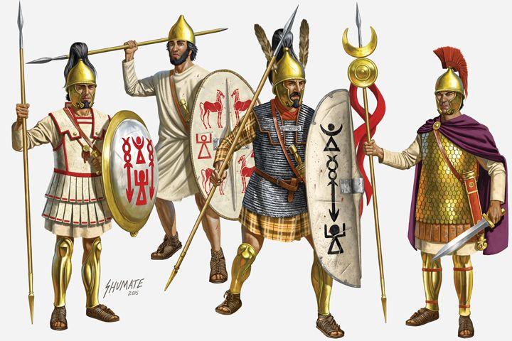 Celtiberian mercenaries -- Carthaginian light infantry