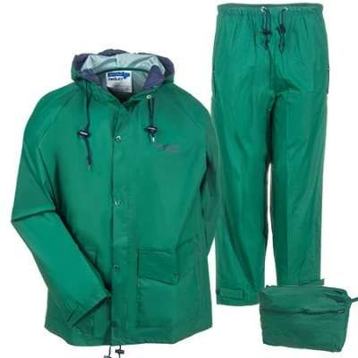 Tingley 8 Mil Storm Champ Forrest Green 2 Piece Rain Suit. Heavy duty. #rainsuit #hunting #boating #industrial #fishing #rain