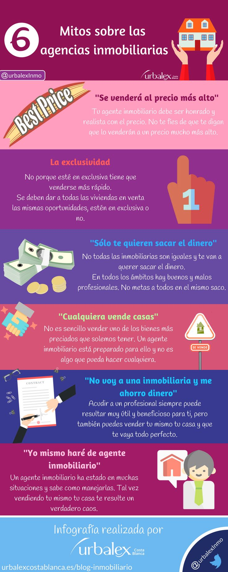 Mitos sobre las agencias #inmobiliarias
