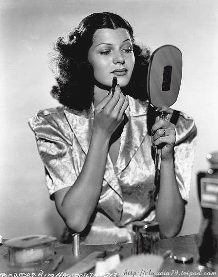 Rita Hayworth (Margarita Casitano), before they died her hair red, 1930s