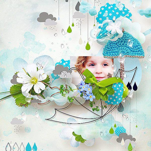Under my Umbrella by Natali Designs @ scrapbookgraphics