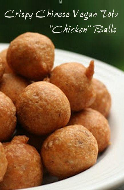 "#MeatlessMonday with Crispy Chinese #Vegan Tofu ""Chicken"" Balls @miratel http://www.miratelinc.com/blog/meatless-monday-with-crispy-chinese-vegan-tofu-chicken-balls/"
