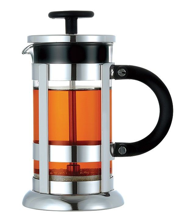 The Chrome premium French press features, as the name would suggest, a chrome finish for our popular Rome-inspired design.