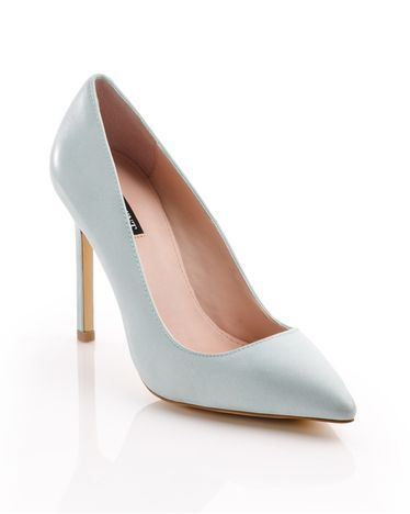 How friggen cute are these for spring?! Loveeeee. light blue pastel high heels pumps spring collection