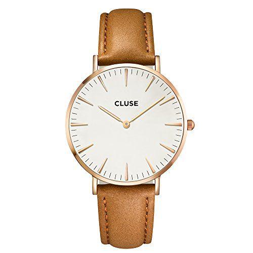 Cluse La Bohème Rose Gold White/Caramel Uhr CL18011 CLUSE http://www.amazon.de/dp/B00MPQIO5U/ref=cm_sw_r_pi_dp_8JrOwb00M0WFR