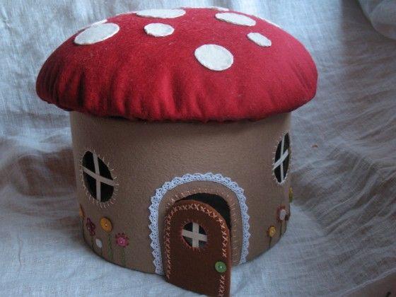 Create A Mushroom House   Wonderful