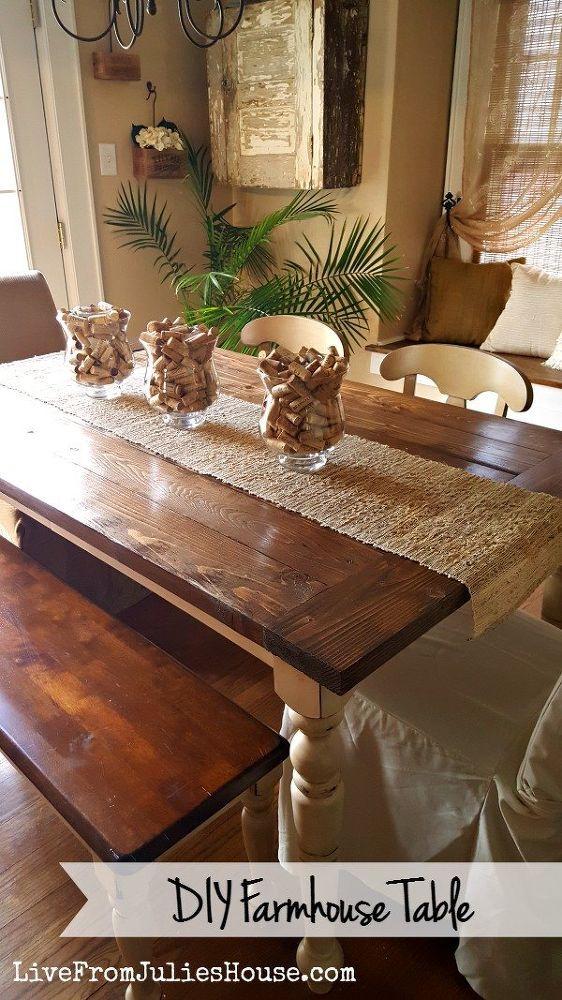 DIY Farmhouse Table Aka Franken