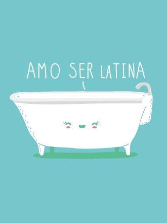 """""""La tina"""" = otra manera de decir """"la bañera."""""""