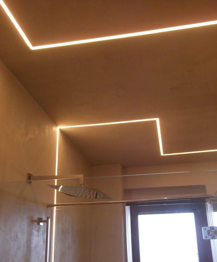 Oltre 25 fantastiche idee su illuminazione bagno su - Illuminazione bagno led ...