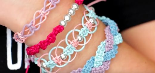 DIY très beaux bracelets simple a faire