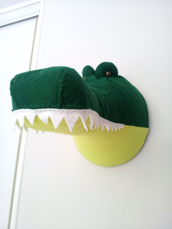 CASSIUS CROCODILE  Faux Taxidermy Fabric by GillsPopArtEmporium, £55.00