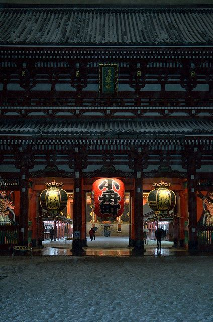 Senso-ji temple, Tokyo, Japan 浅草寺(東京)