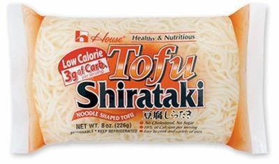 tofu shirataki noodles--delicious!!!
