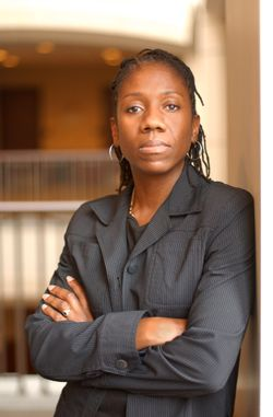 Sherrilyn Ifill, professor of law at the University of Maryland School of Law, civil rights lawyer, board chair of the Open Society Institute U.S. Programs, board member of Civic Frame
