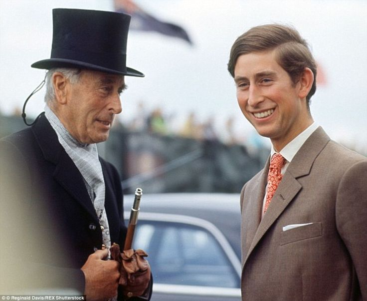 Louis Mountbatten & Charles Prince of Wales