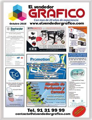Revista especializada en Artes Gráficas, Publicidad, Offset, Artículos Promocionales, Impresión en Gran Formato, Tintas, Preprensa, Maquinaria para las Artes Gráficas etc.