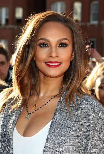 Alesha Dixon. Britain's Got Talent judges auditions. London. Day 1. 11 February 2014.
