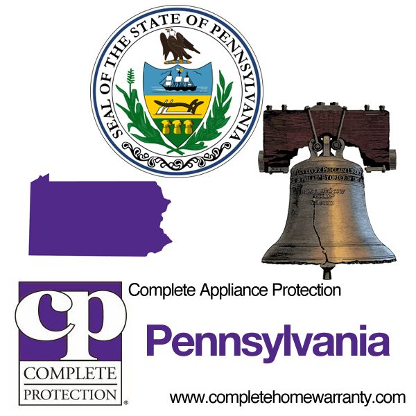 Pennsylvania Home Warranty - Complete Appliance Protection - Best Home Warranty Reviews - Call 1-800-978-2022 - Pennsylvania Home Warranty