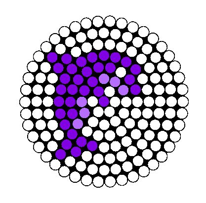 Dolphin bead pattern